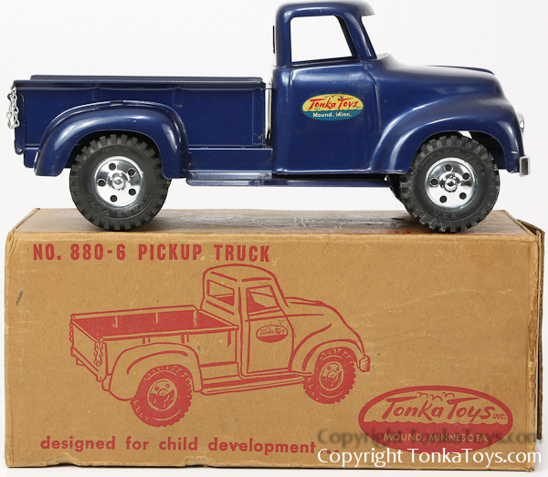 Tonka Toys Pickup Truck Number 880-6 in the box