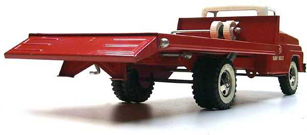 1963 No. 640 tonka toys Red Ramp Hoist Truck 7