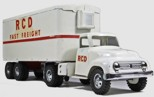 1954 Tonka Toys RCD Fast Freight Private Label Semi