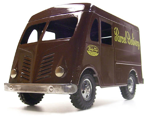 1954 Tonka Toys Parcel Delivery Number 10 Metro Van