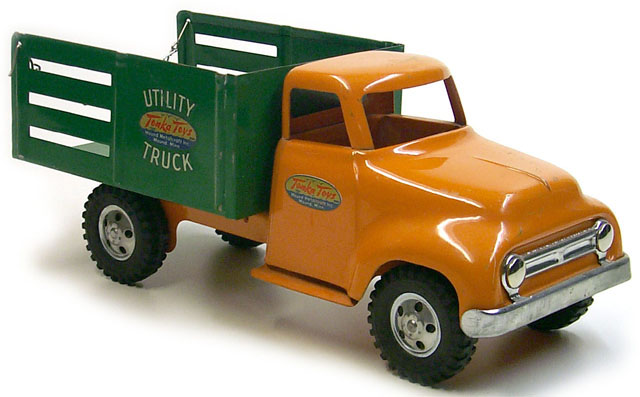 1954 Tonka Utility Truck Number 175